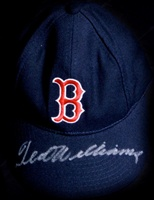 Ted Williams Signed Boston Red Sox Cap (PSA/DNA)