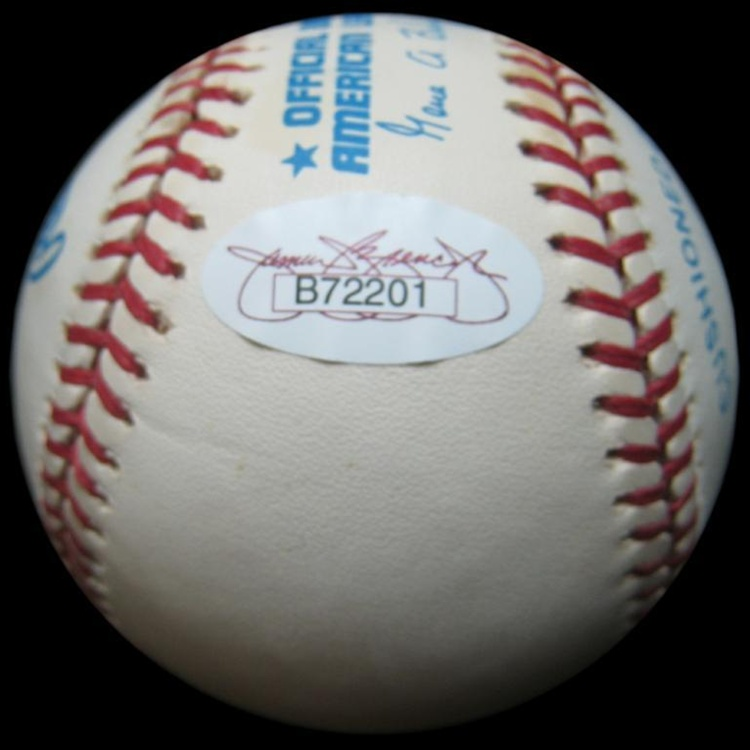 e25fd9490 Rare Mickey Mantle Autographed Baseball Signed Shortly Before His Death  (JSA)