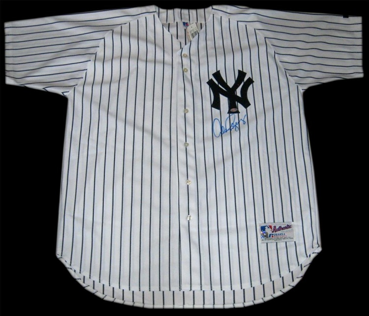innovative design 1a785 b1c62 Alex Rodriguez Autographed New York Yankees Home Pinstripe Authentic Jersey  (Steiner Sports and MLB Authentication)